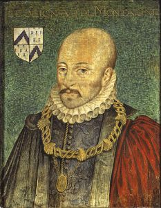 "Montaigne, furieusement ""moderne"" (Source: Wikipedia)"